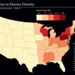 Hunter Density Across the U.S.