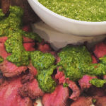 Grilled Venison Backstrap with Chimichurri