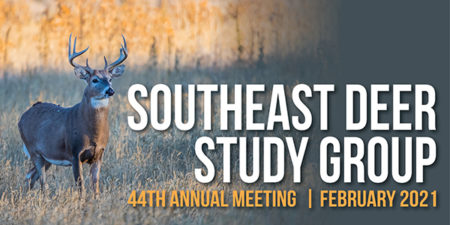2021 Southeast Deer Study Group Meeting (Virtual) @ Virtual